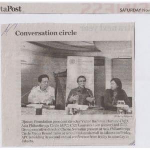 20161119_TheJakartaPost<br><h6>Conversation Circle</h6>