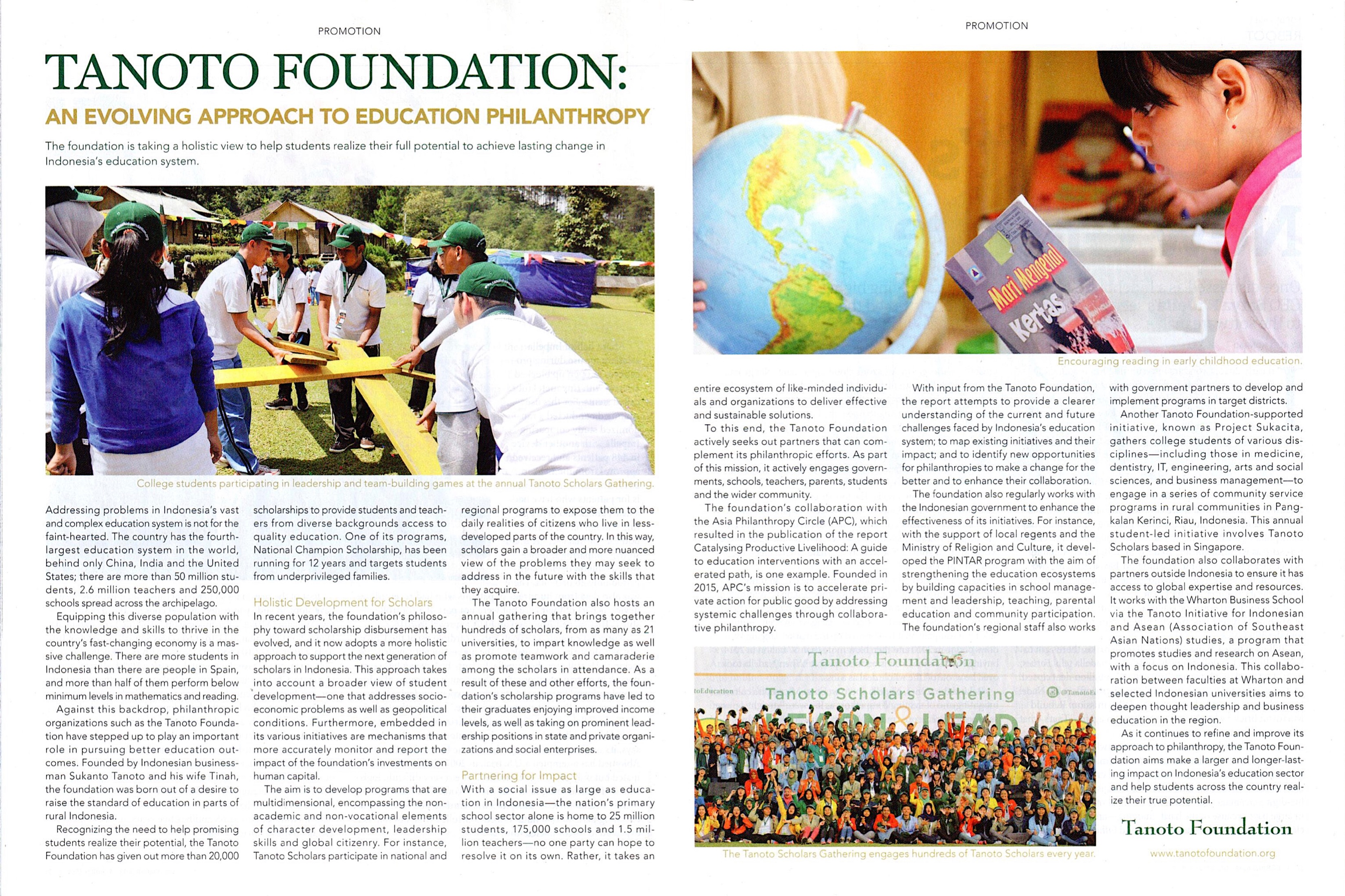 Something is. asian foundation for philanthropy